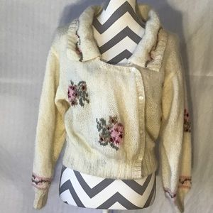 Vintage 70's Hand Knit Sweater